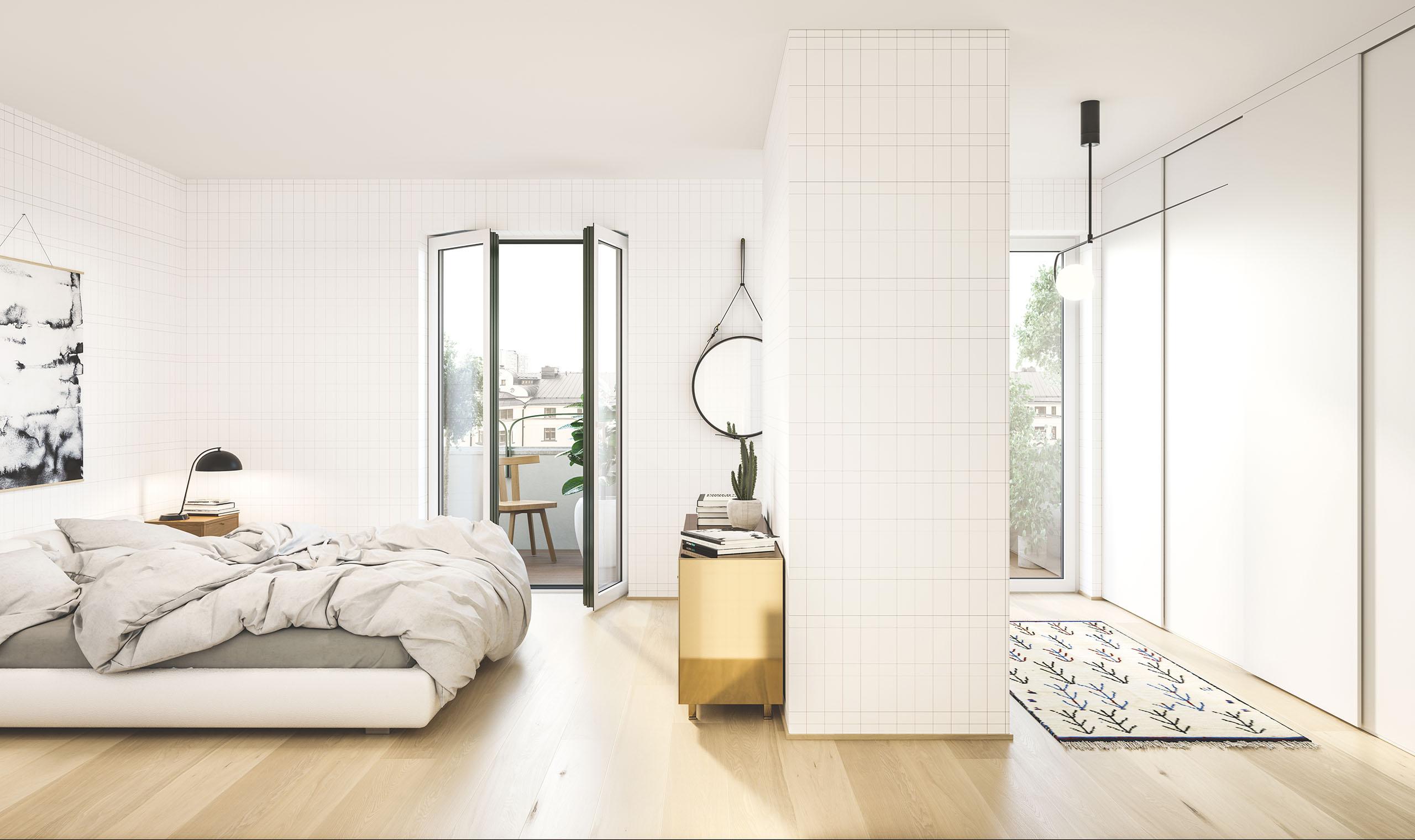 Claesson Koivisto Rune sunny bedroom